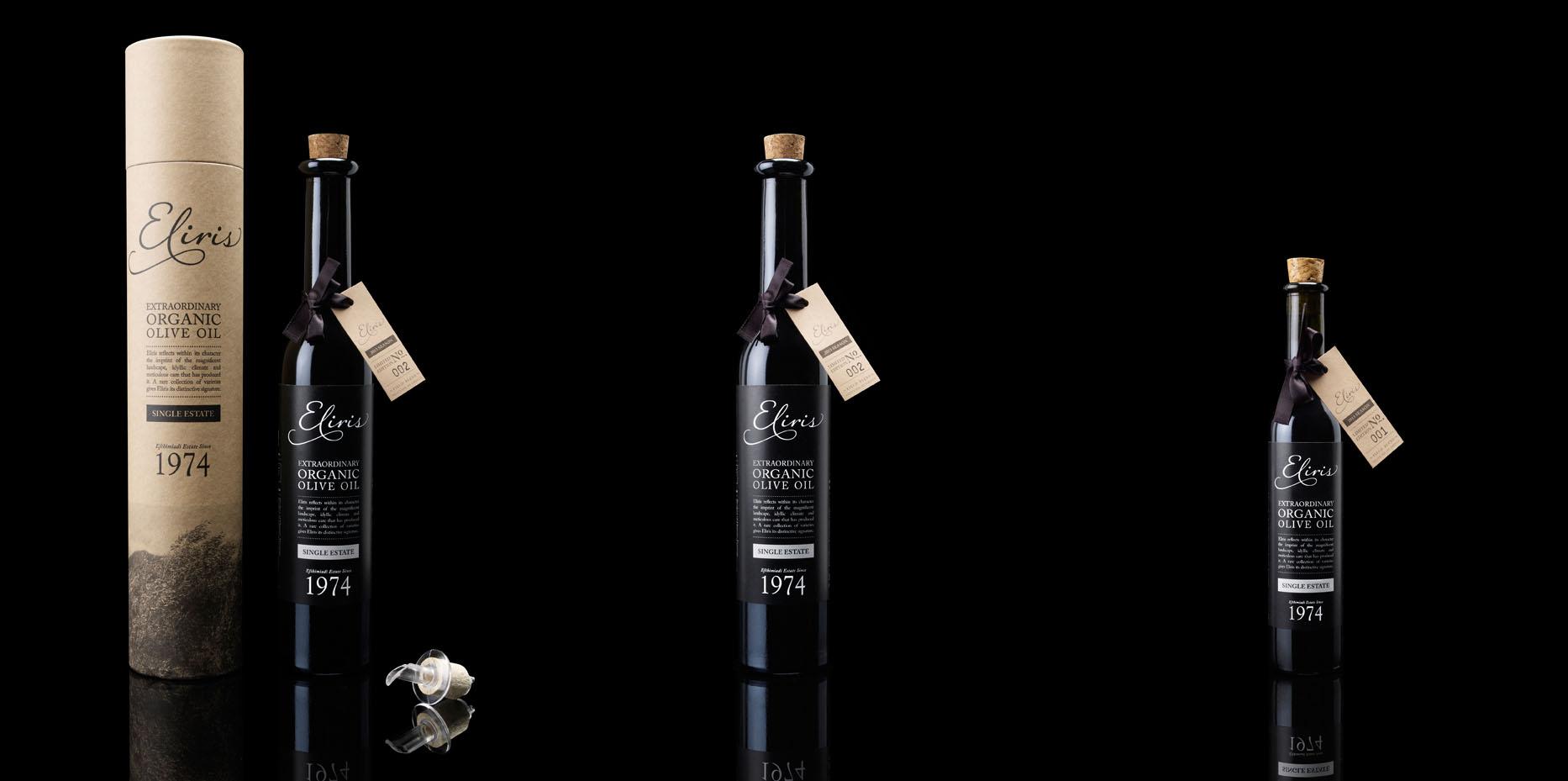 Eliris Greek Organic Extra Virgin Olive Oil » Wholesale